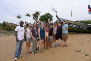 U of M Art and Design Students in Ghana - August 2012