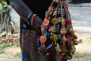 Making Beads From Discarded Plastic